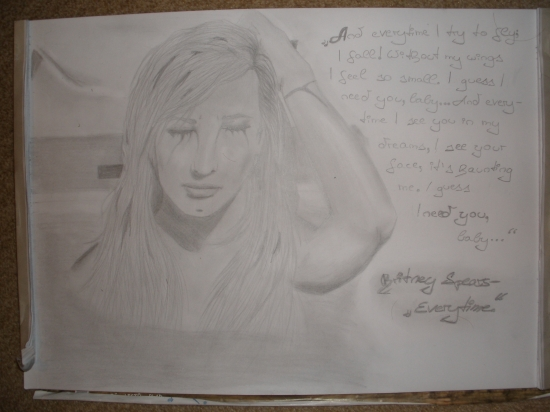 Britney Spears by drawing.my.dreams